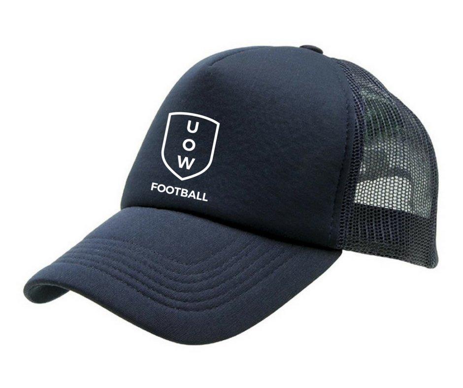 UOWFC Trucker Cap - Navy