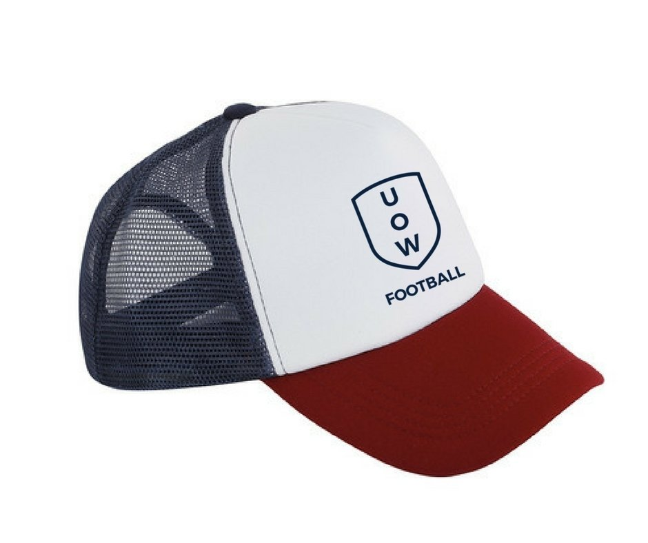UOWFC Trucker Cap - Navy/Red/White