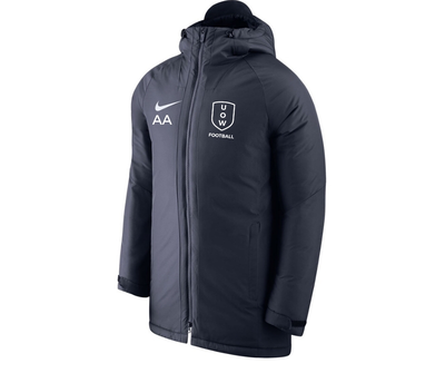 UOWFC 2020 Nike Academy 18 Insulated Stadium Jacket - Navy