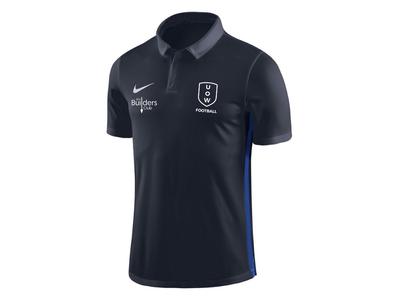 UOWFC 2019 Nike Dry Academy 18 Club Elite Polo - Navy/Royal