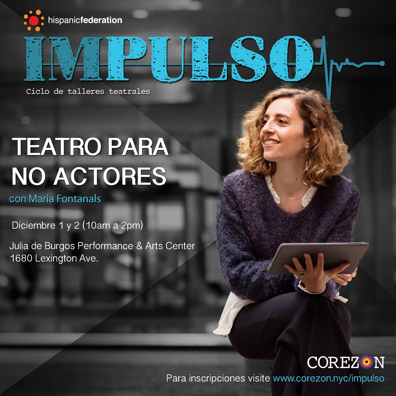 Teatro Para No Actores (sold out)
