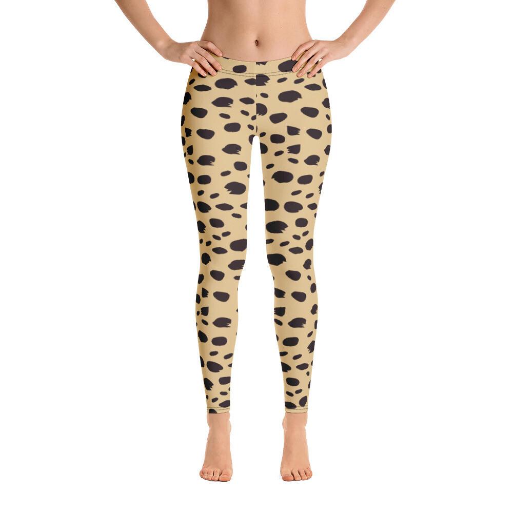 Animal Skin Full Colour Modern Leggings for women