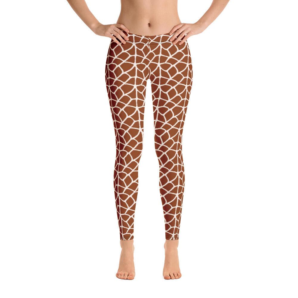 JARAF Pattern Modern Full Print Leggings