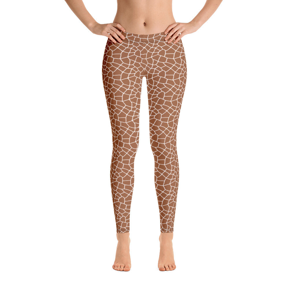 Jaraf Skin Pattern Leggings for women Printed Full Color USA