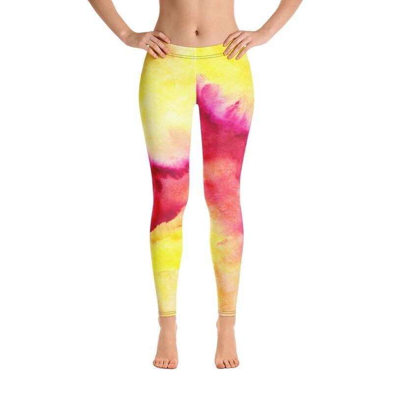 Coloured Modern Leggings for Women