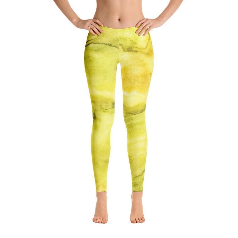 Stylish Water Colour Leggings for Women