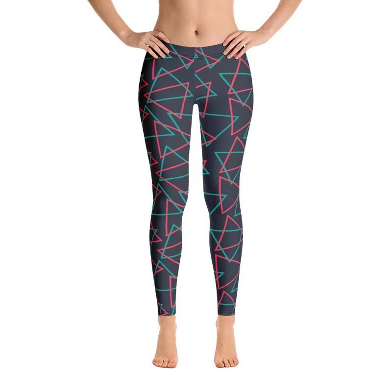 Luxury Pattern Modern Printed Leggings