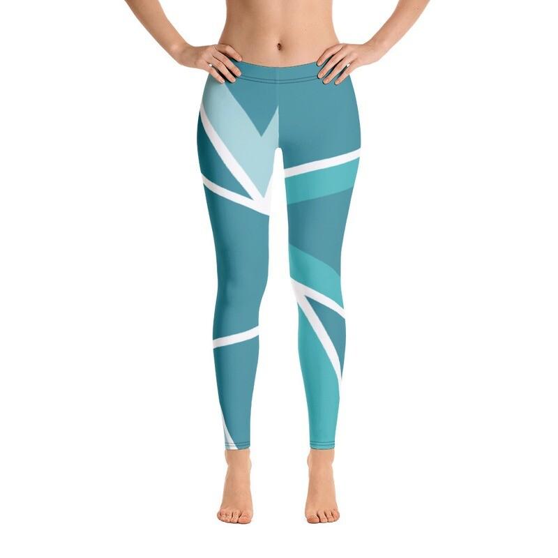 Full Printed Pattern Modern Leggings