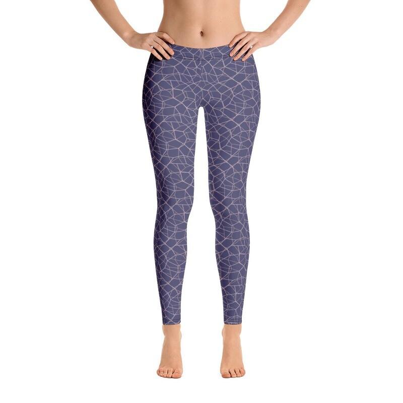 Classic Printed Pants Leggings for Women