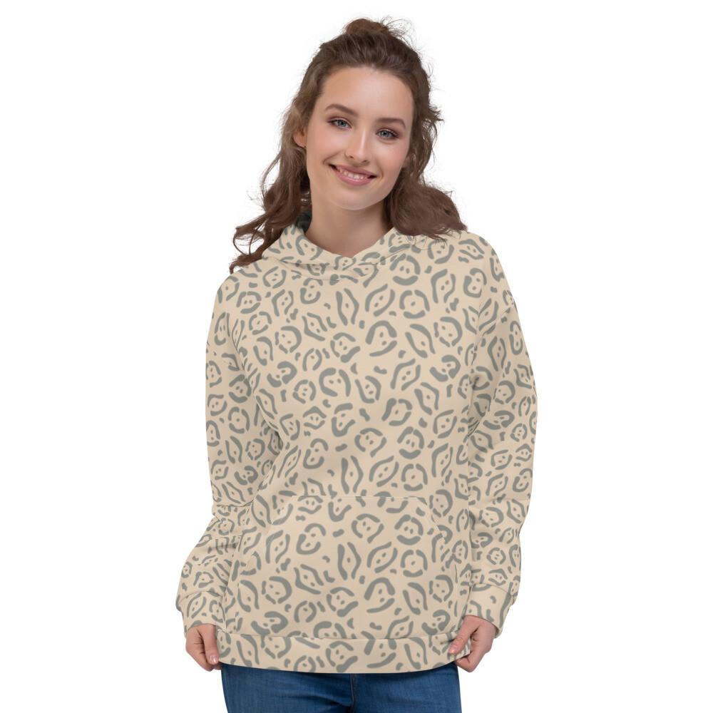 Pusha Modern Full Printed Pullover Unisex Hoodie Sweatshirt
