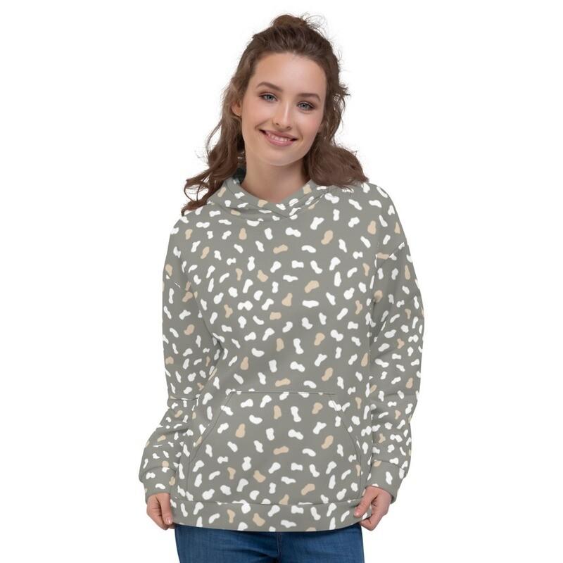 Kita Pullover Sweatshirt Printed Unisex Hoodie