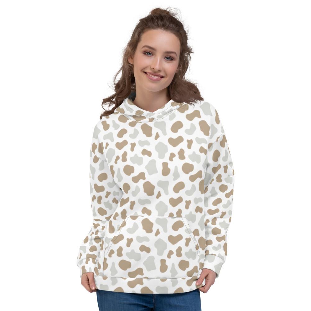 Oria Printed Sweatshirt Pullover Unisex Hoodie