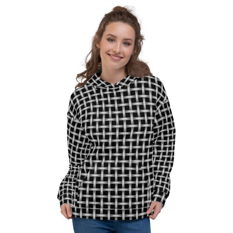 Caged Full Printed Pullover Unisex Hoodie
