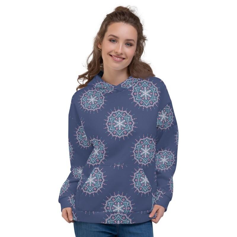 Missli Printed Pullover Unisex Hoodie