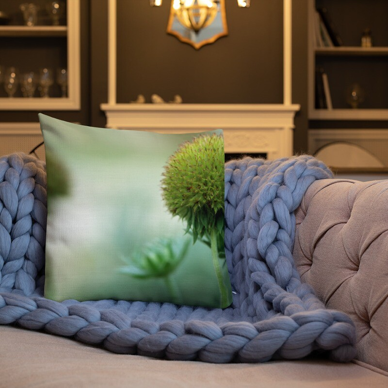 Lobi Printed Throw Premium Pillow
