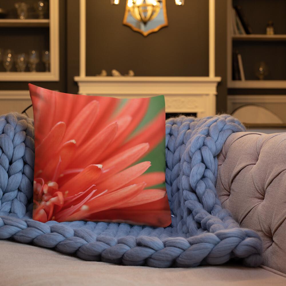 Lili Printed Throw Premium Pillow