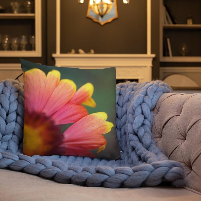 Oria Printed Throw Premium Pillow