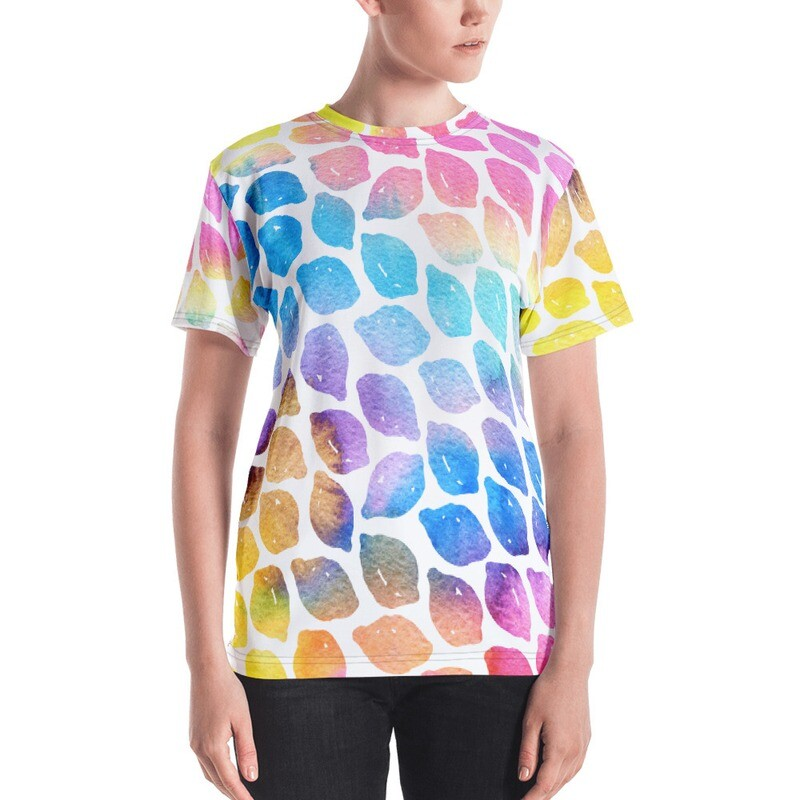 Lima Full Printed Women's T-shirt