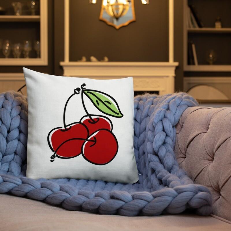 Cher Full Printed Throw Premium Pillow