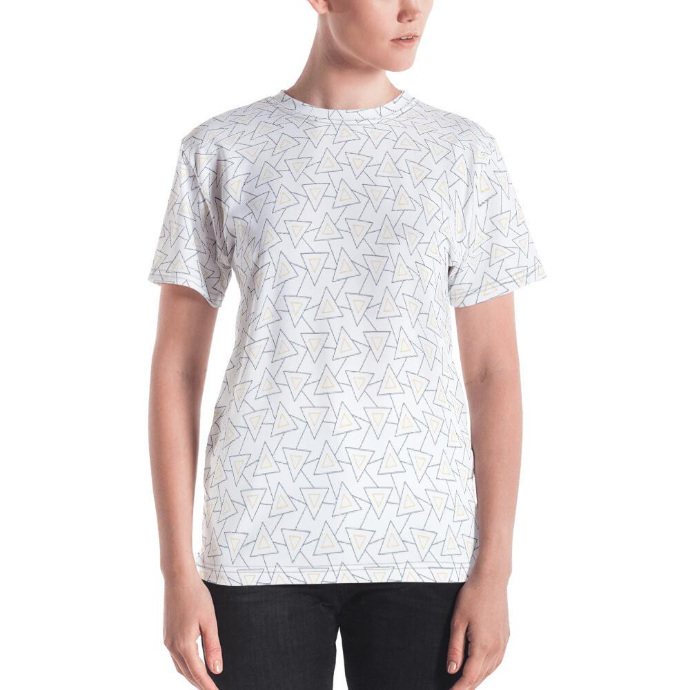 Rishin Full Printed Women's T-shirt