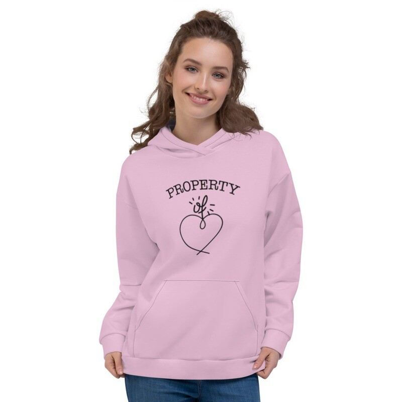 Love Printed Modern Unisex Hoodie