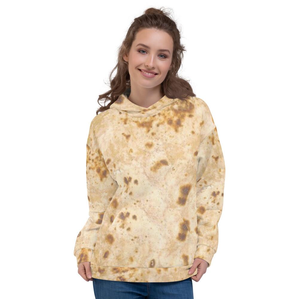 Pancake Tortilla Burrito Unisex Hoodie