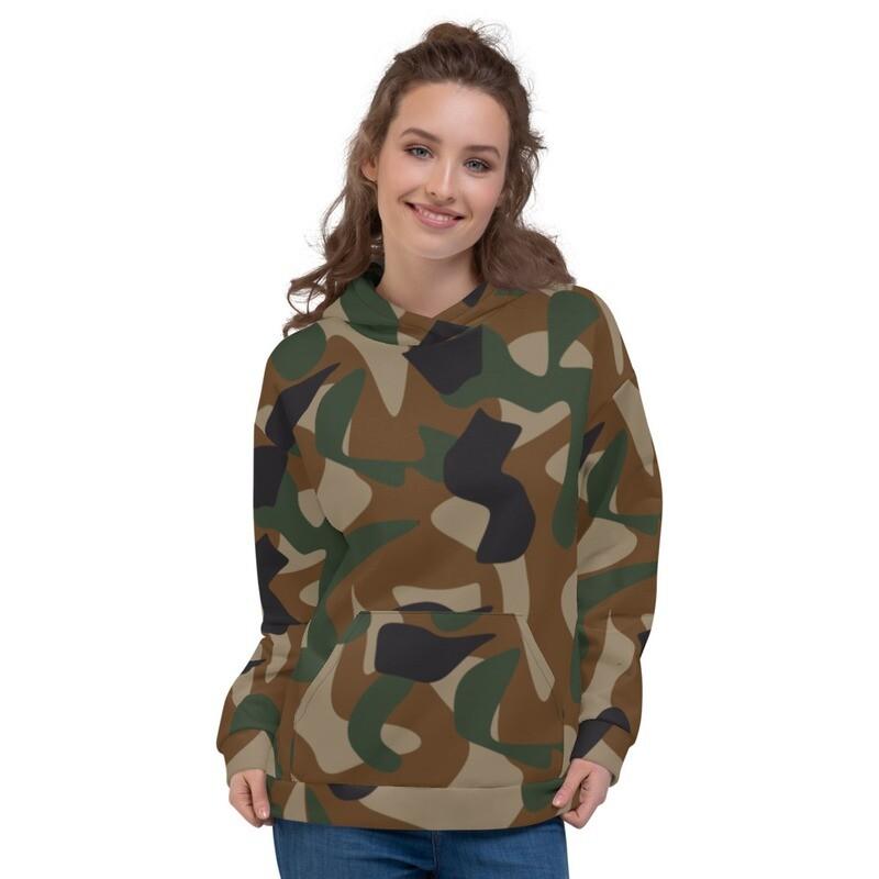 Camo Army Full Printed Unisex Hoodie