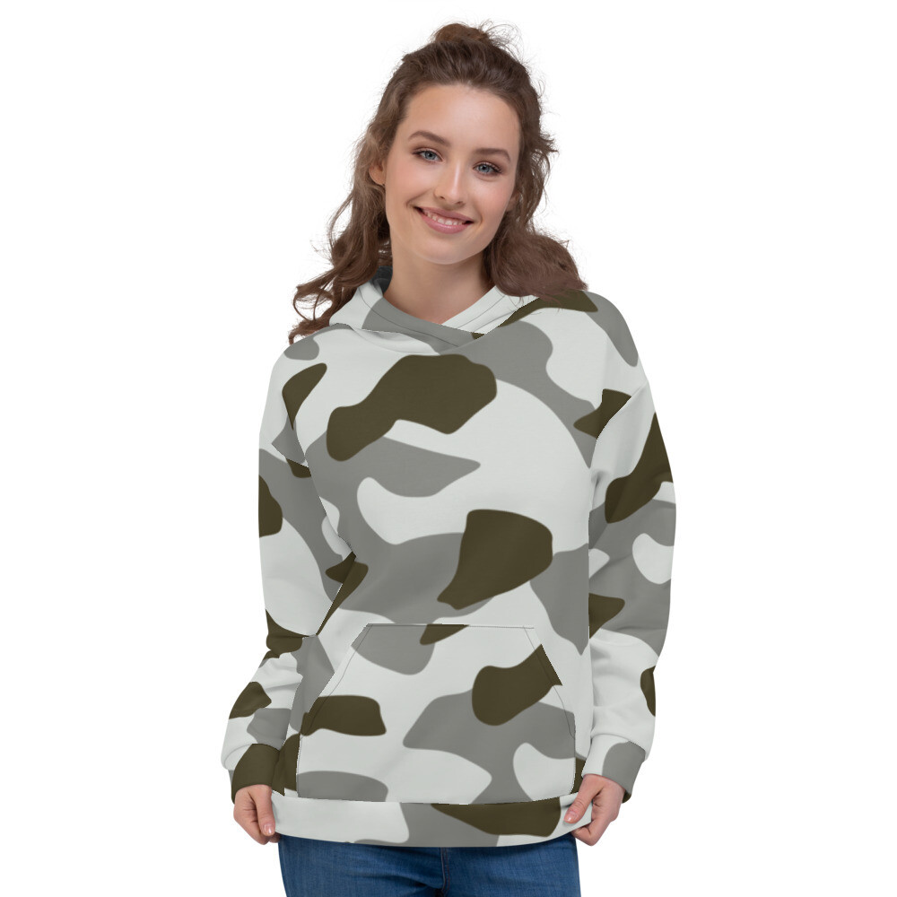 Camo Light Full Printed Unisex Hoodie