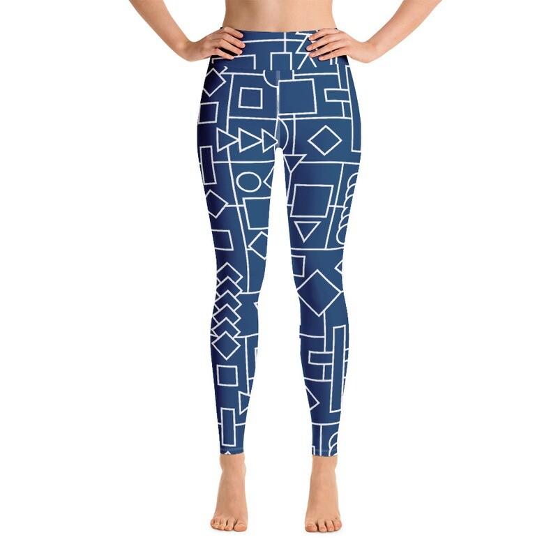 Rishta Full Printed Women's Yoga Leggings