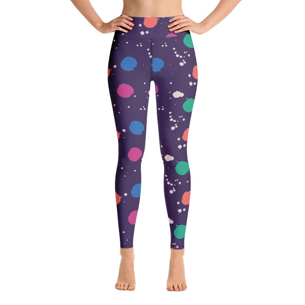 Juli Full Printed Women's Yoga Leggings