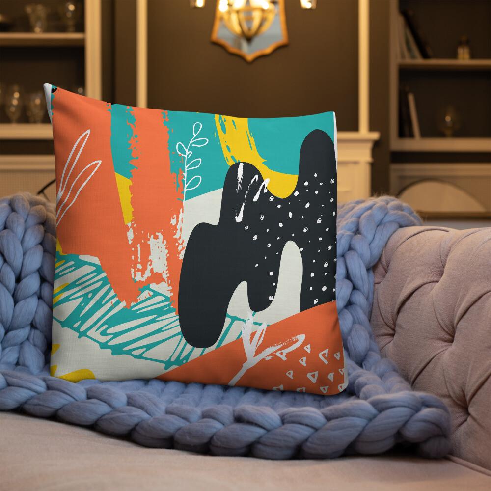 Rush Full Printed Premium Pillow