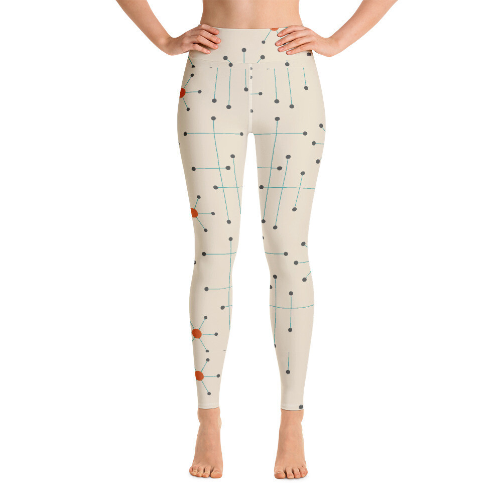 Kitasih Full Printed Yoga Leggings