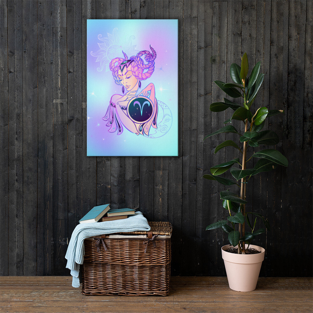 Aries Printed Canvas