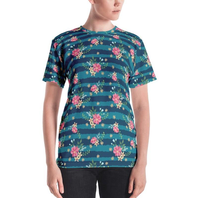 Mismal Full Printed Women's T-shirt
