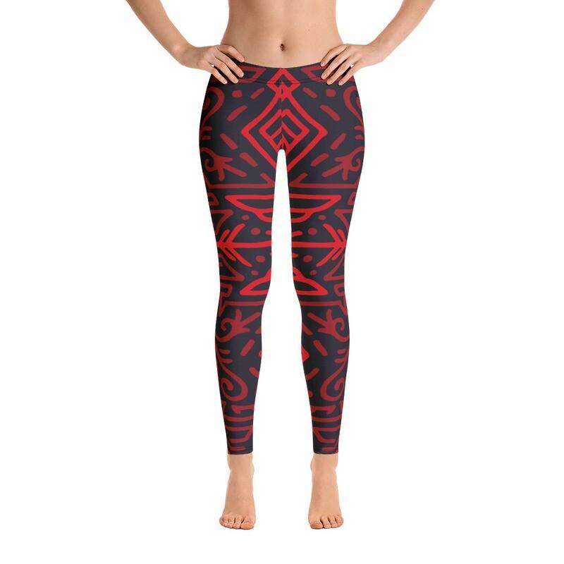 Eta Full Printed Women's Leggings