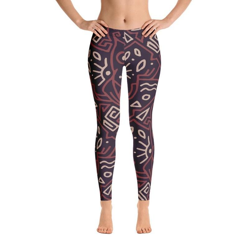 Hera Full Printed Women's Leggings