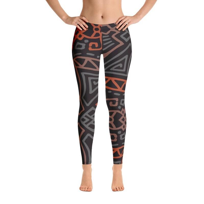 Msali Full Printed Women's Leggings