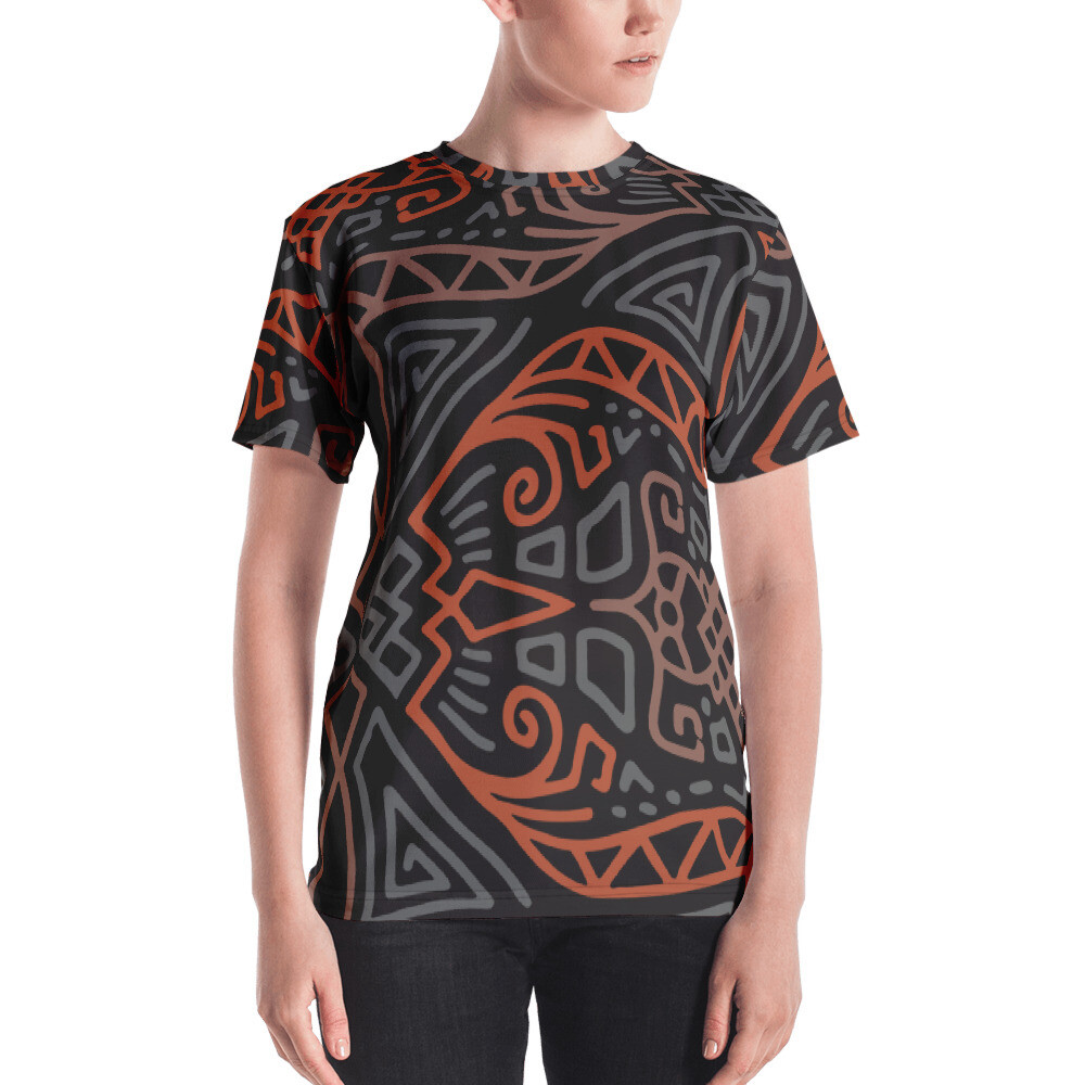 Miq Full Printed Women's T-shirt