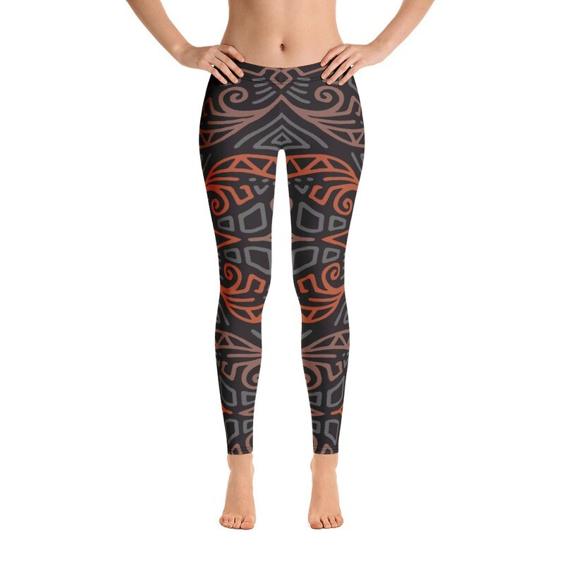 Jina Full Printed Women's Leggings