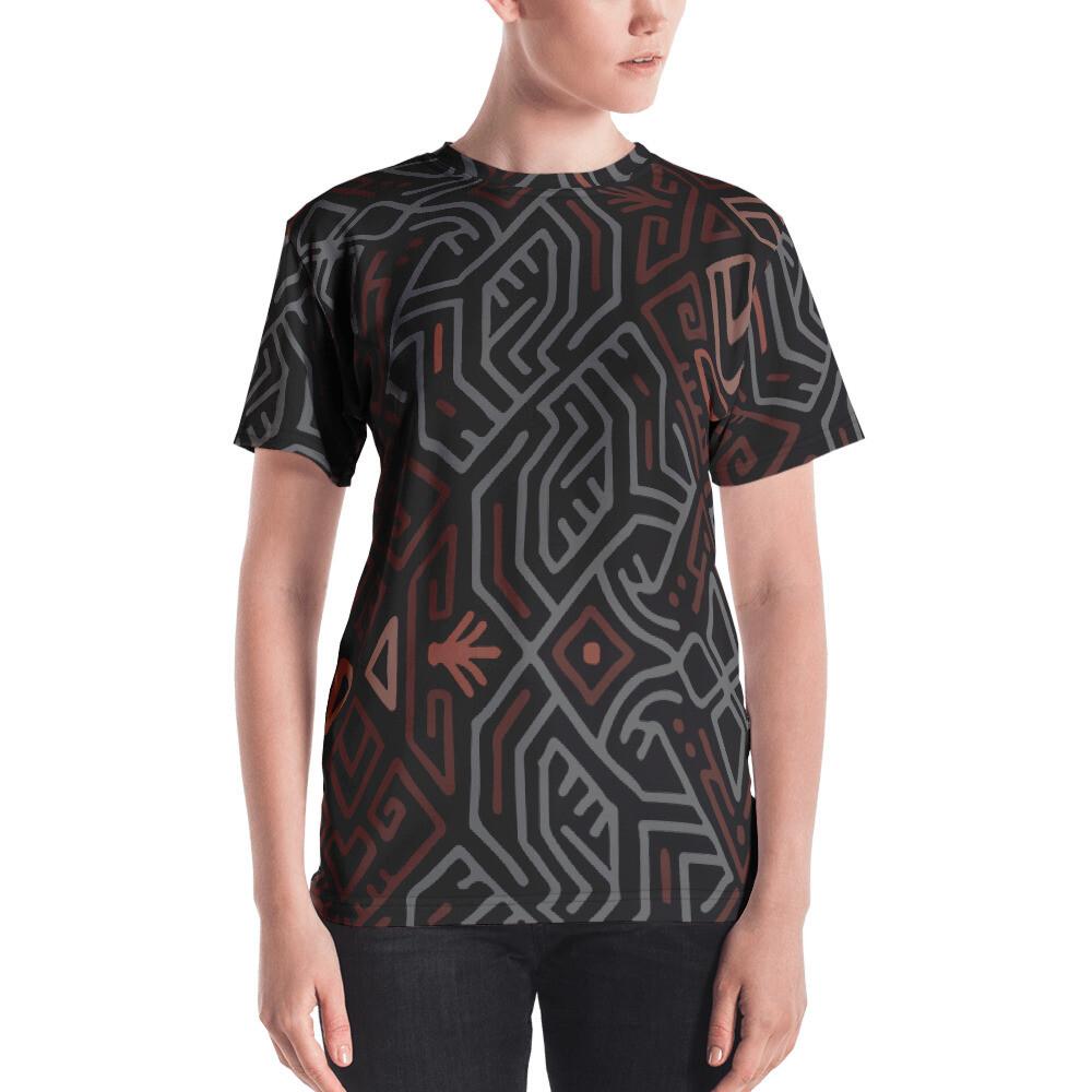 Katia Full Printed Women's T-shirt