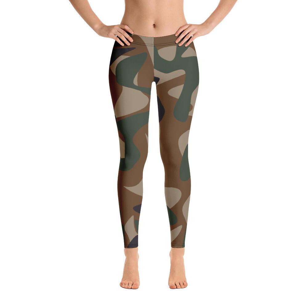 Coma Full Printed Women's Leggings