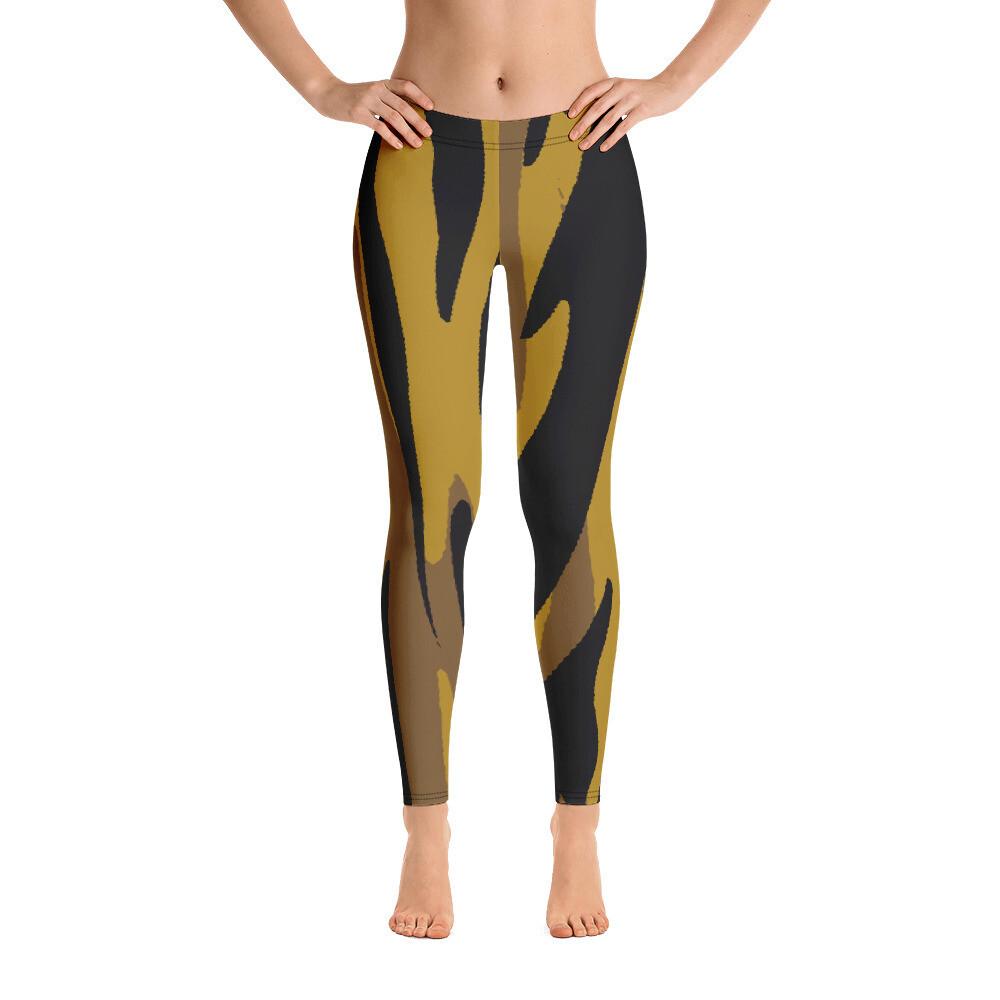 Hiu Modern Full Print Women's Leggings