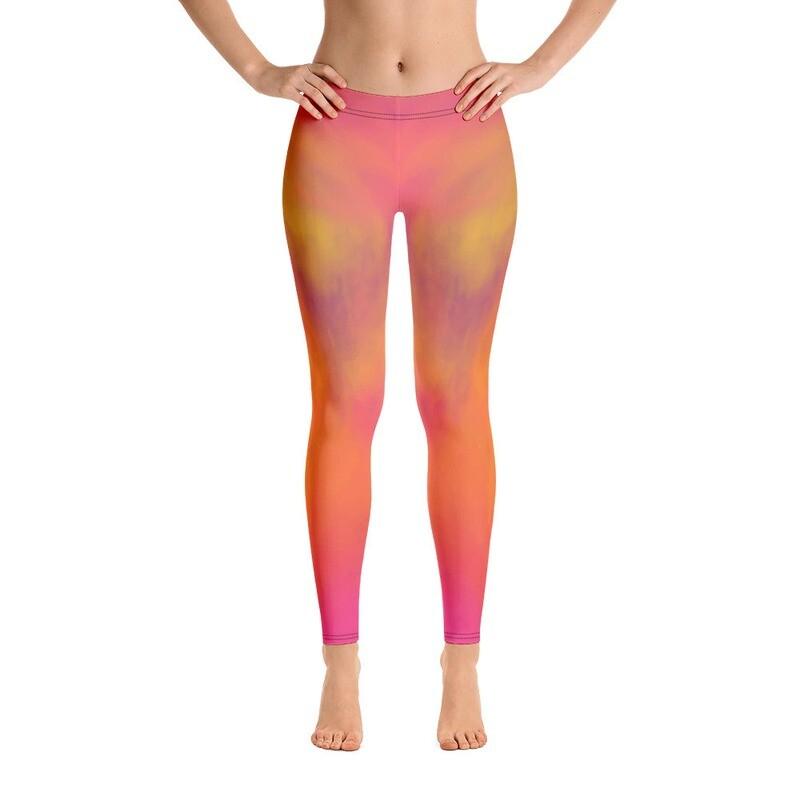 Huki Full Printed Women's Leggings