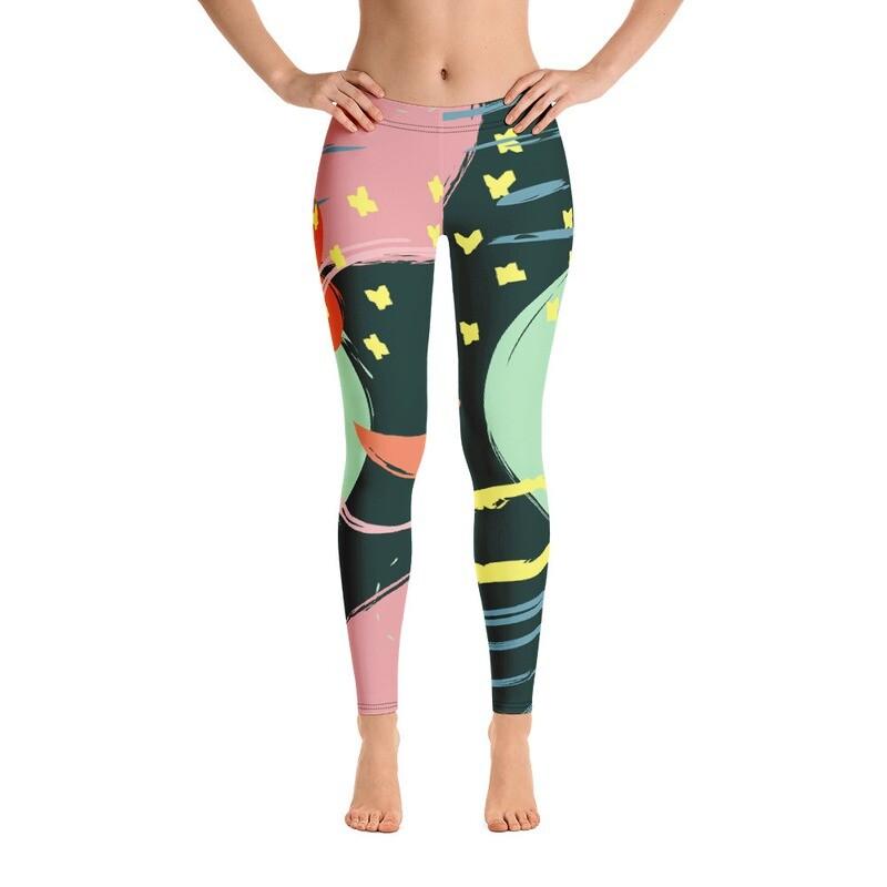 Lop Full Printed Women's Leggings