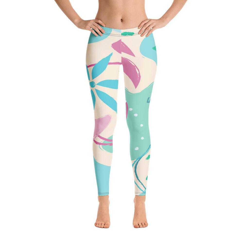 Gia Full Printed Women's  Leggings