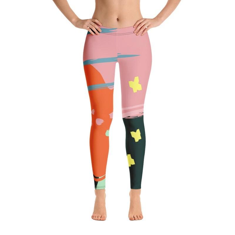 Oylo Full Printed Women's Leggings