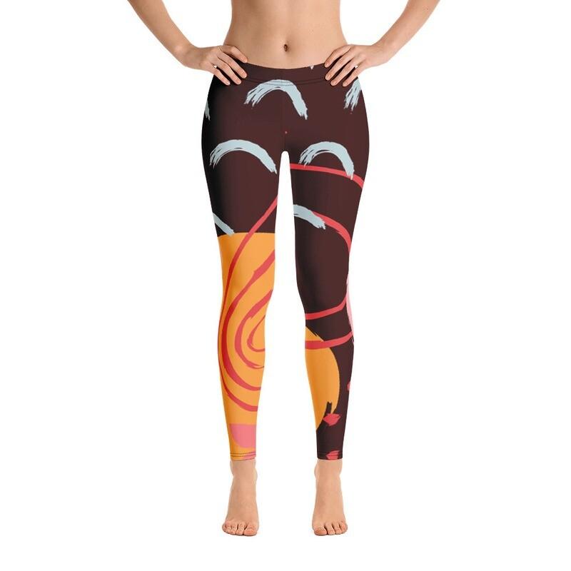 Poa Full Printed Women's Leggings