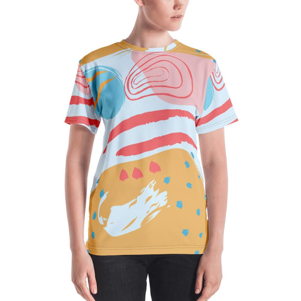 Hati Full Printed Women's T-shirt