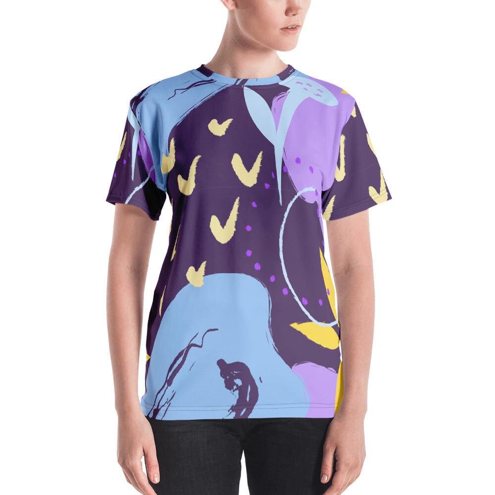 Uip Full Printed Women's T-shirt