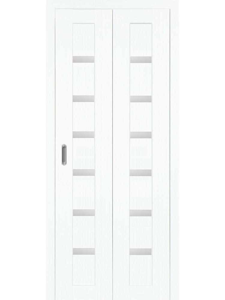 """Дверь-книжка """"Оптима Порте 507"""" стекло """"мателюкс"""""""
